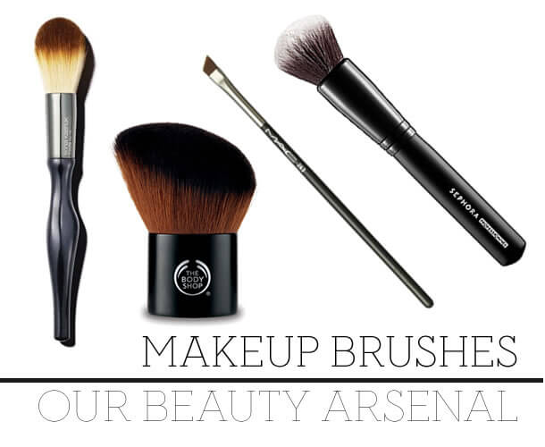 beauty arsenal and recommended tools