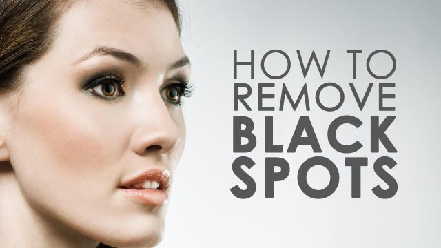 How to remove black dots 24