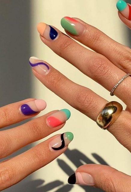 nails, summer nails, short nails, medium nails, long nails, nails ideas, summer nails ideas, summer manicure, manicure ideas, pinmymakeipideas.com